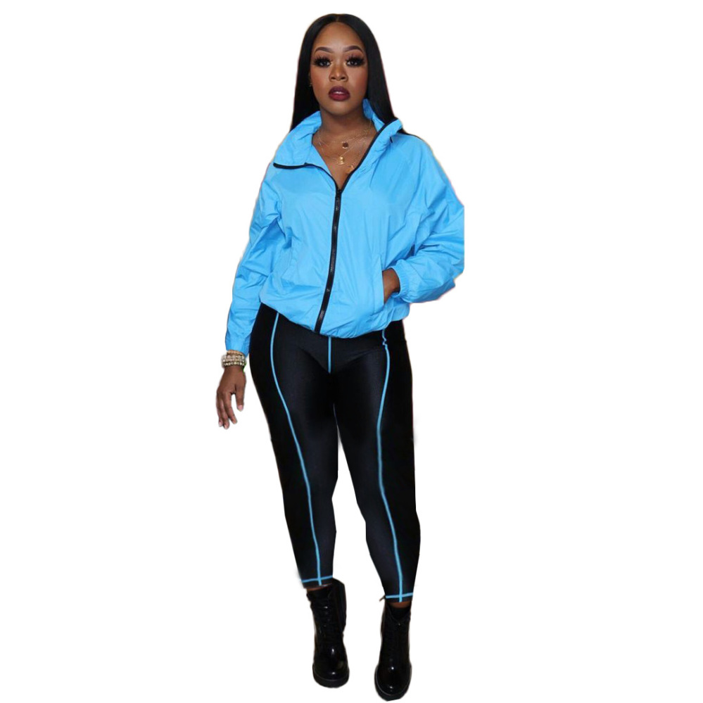Women/'s 2 Piece Sweatsuit Outfits Long Sleeve Zipper Long Pants Winter Tracks...
