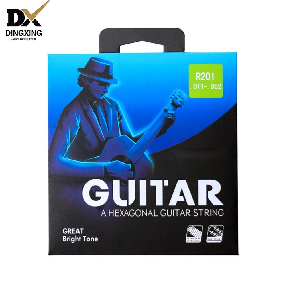 Набор струн для акустической гитары 011 импортный материал музыкальные Струнные инструменты части гитарные аксессуары Гитара ras Китай oem