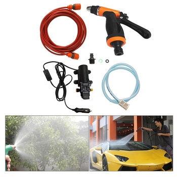 High Pressure Washer Power Pump System Kit Car Washer Pump Car Cleaning Tool DC 12V Car Washer Washing Machine Car Accessories image