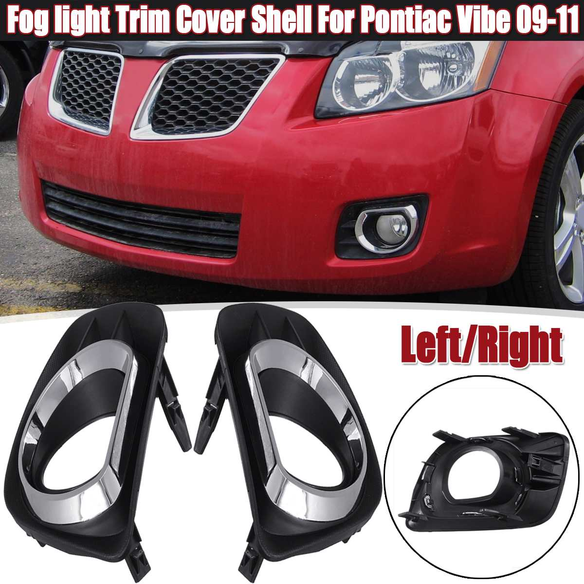 With Fog Lamp Hole Lh FOR Toyota 2011-2013 Corolla Fog Light Cover Trim