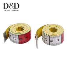 50/100pcs Germany Quality Tape Measure Measuring Ruler with Snap Fasteners Sewing Tools 60Inch/150cm Wholesale