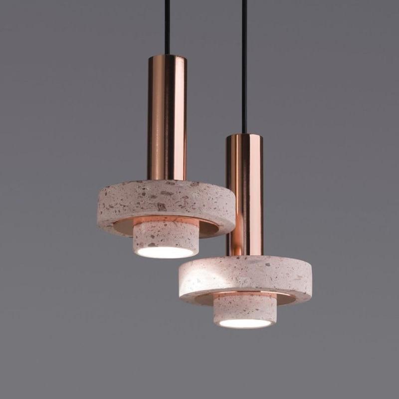Marble Creative LED Pendant Lights Restaurant Bar Bedside Coffee Shop Hanging Lamp Modern Nordic Simple Luminaires AC90V - 260V