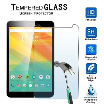 For Prestigio Grace 3118 3G 8-Premium Tablet 9H Tempered Glass Screen Protector Film Protector Guard Cover kefo universal cover for prestigio multipad grace 3118 pmt3118 3318 pmt3318 3g 8 inch tablet zipper nylon tablet covers case