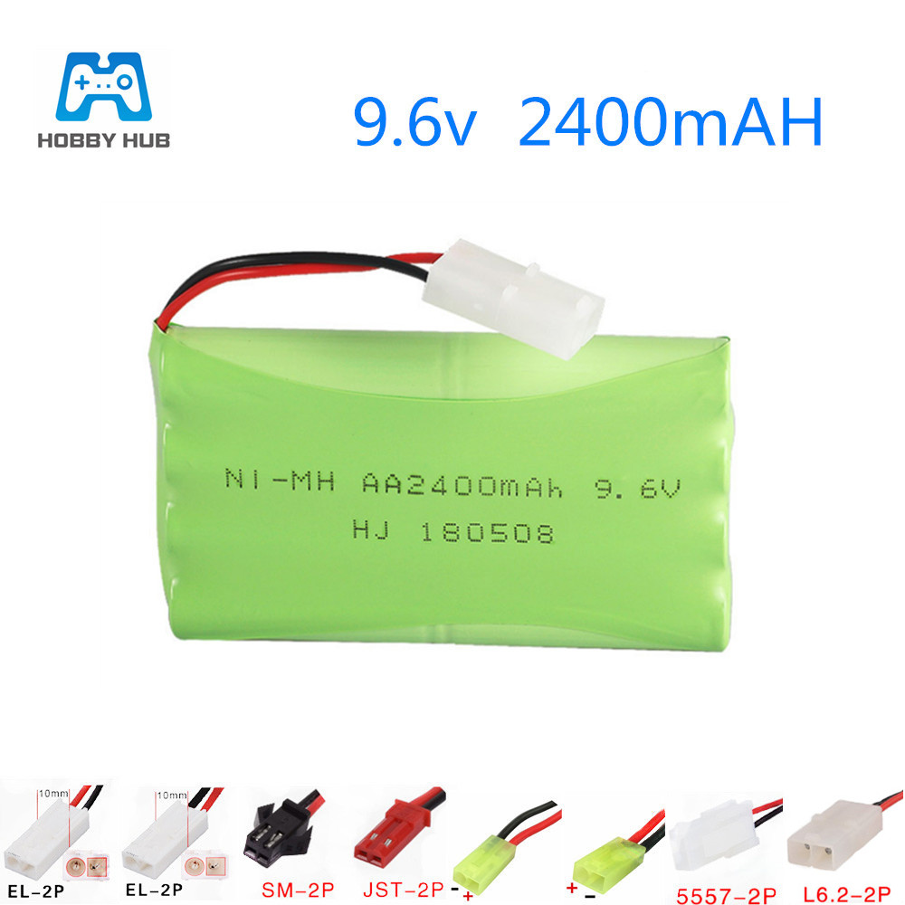 9.6V 2400mAh nimh AA Battery for Remote Control Toys Electric toy lighting facilities AA 9.6 v 2400 mah Rechargeable battery