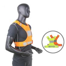 Riding Reflective Vest For Running Or Cycling  Women And Men With Pocket Gear Jog