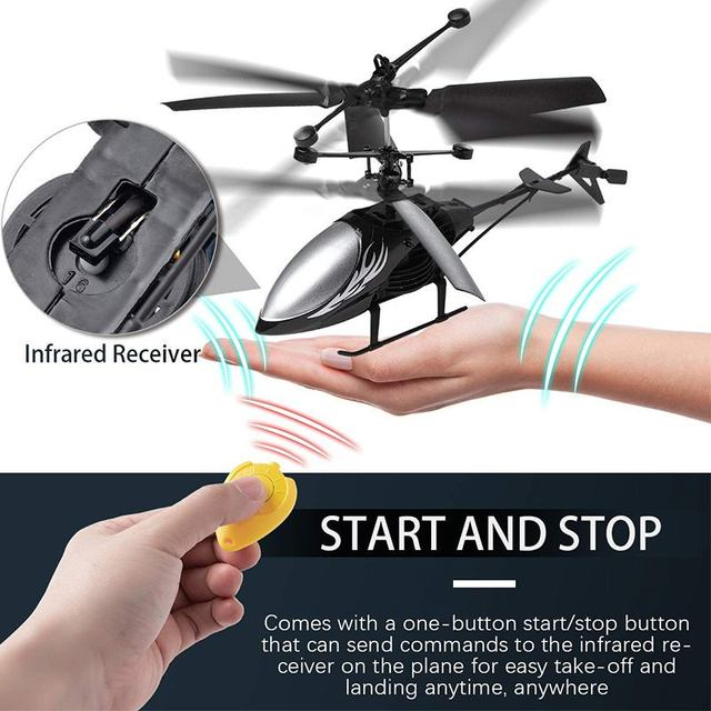 Mini RC Drone RC Helicopter Flying Infrared Induction Flashing Light Aircraft Quadcopter Children Kids Remote Control Flying Toys