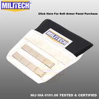MILITECH pachwiny aramidowy Panel balistyczny kuloodporna płyta miękki pancerz NIJ IIIA 3A 0101.06 i NIJ 0101.07 HG2 Panel ochronny pachwiny