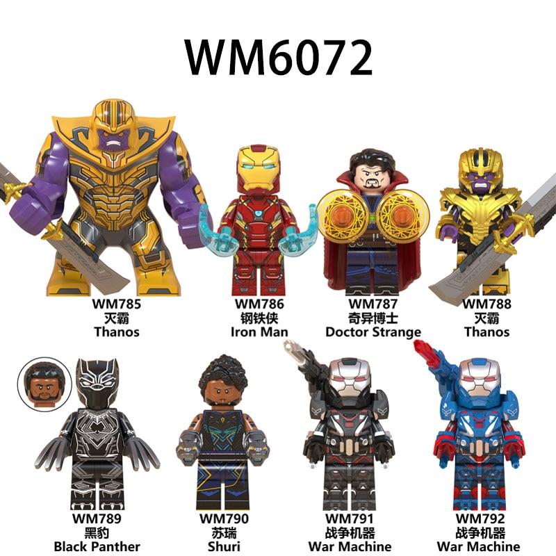 Iron Man Stark Marvel Avangers Infinity War Thanos Super Heroes Building Blocks
