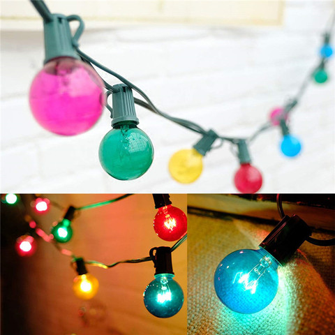 luzes do patio g40 globo luz da