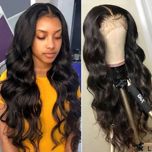 Peruvian Body Wave Wig Lace Front Wig Pre Plucked With Baby Hair Remy Wig 150% 13x4 Lace Frontal Human Hair Wig For Black Women ombre lace front human hair wig for black women colored deep wave wig 13x4 brazilian hair frontal wig pre plucked remy brown wig