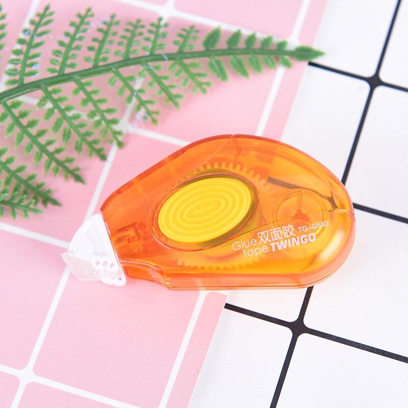 Одноразовые пополнения Тип Скрапбукинг двухсторонний клейкий валик лента Бумага клея вкладыш гитара Пти Буше - Цвет: orange