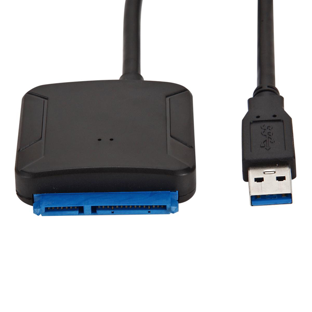ABS USB 3.0 To SATA Easy Drive Line Converter Mobile 2.5 Hard Operate Data Cable American Power Supply