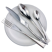 Mirror Flatware-Set Tableware Cutlery Stainless-Steel Silver 24-Piece Polishing Hot-Sale