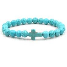 Fashion Nine Colored Chakra Bracelet Men Women Yoga Healing Balance Supernatural Reiki Stones Beads Bracelets Jewelry Bileklik