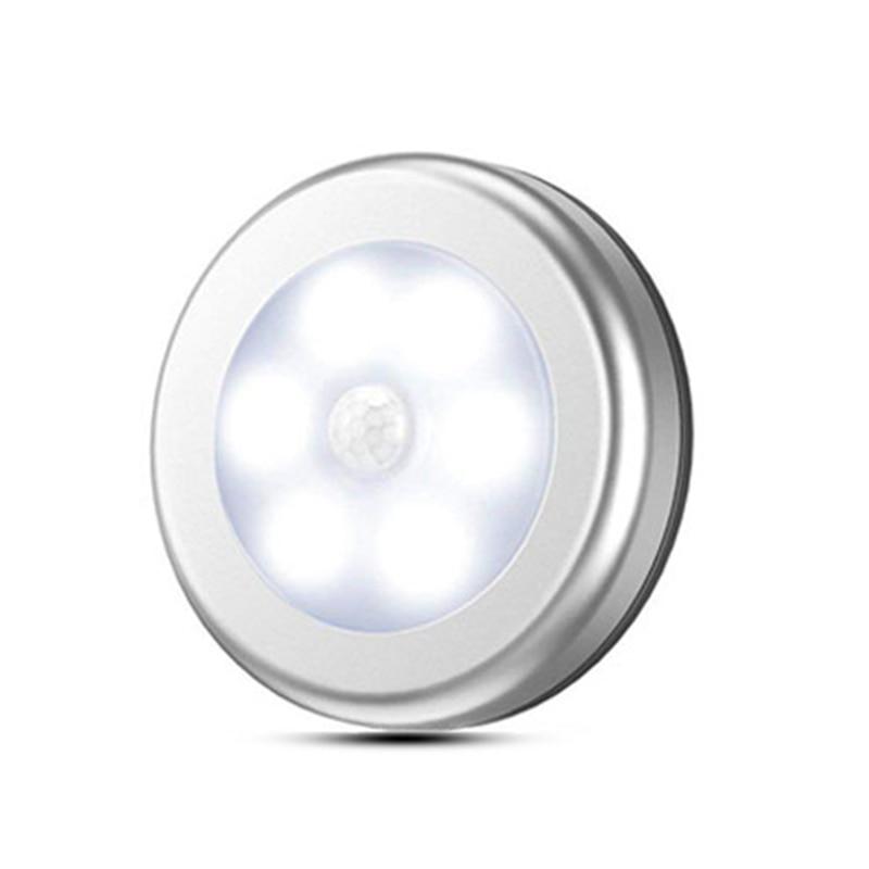 LED Smart Wireless Night Light Infrared Detector Light Wall Light PIR Motion Sensor Light Auto On/Off Cabinet Stair Light 2019
