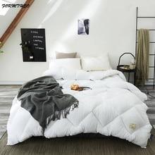 VESCOVO zima jesień kołdry bawełniane rozmiar queen pocieszyciel bawełny wypełnione koc kołdra na łóżko 200*230 220*240cm