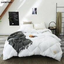 Стеганые одеяла VESCOVO, зимние, Осенние, хлопковые стеганые одеяла большого размера, Хлопковое одеяло, пододеяльник для кровати 200*230 220*240 см