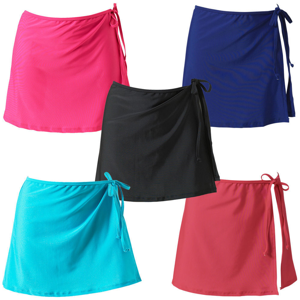 Hot Selling Summer Beach Holiday Bikini Swimsuit Skirt Solid Color String Skirt Apron