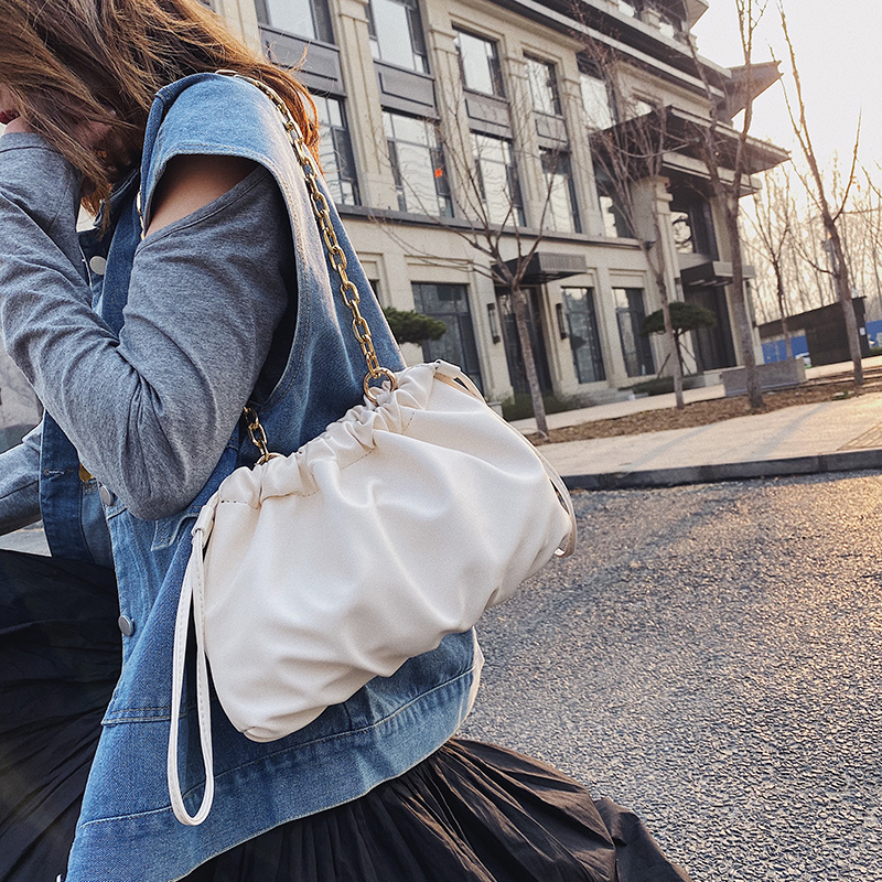 Chain Design Clouds Shape Bags For Women 2020 Fashion Crossbody Shoulder Messenger Bag Female Handbags And Purses
