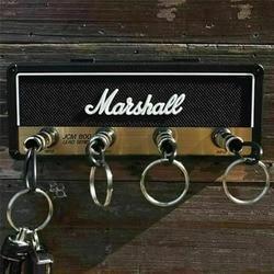 Porta-chaves amp amplificador de guitarra do vintage jack rack 2.0 marshall jcm800 marshall chave titular da parede guitarra decoração para casa