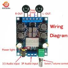 2 х 50 Вт TPA3116D2 двухканальный цифровой Мощность модуль усилителя DC 4,5 V-27 V TPA3116 D2 Регулируемая громкость звука Управление модуль