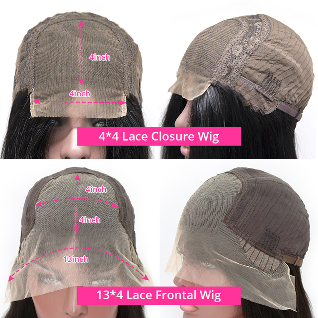 Perucas de bob curto em linha reta frente do laço perucas de cabelo humano para as mulheres pré arrancar com o cabelo do bebê 13x4 peruca dianteira do laço glueless peruca do laço remy 6