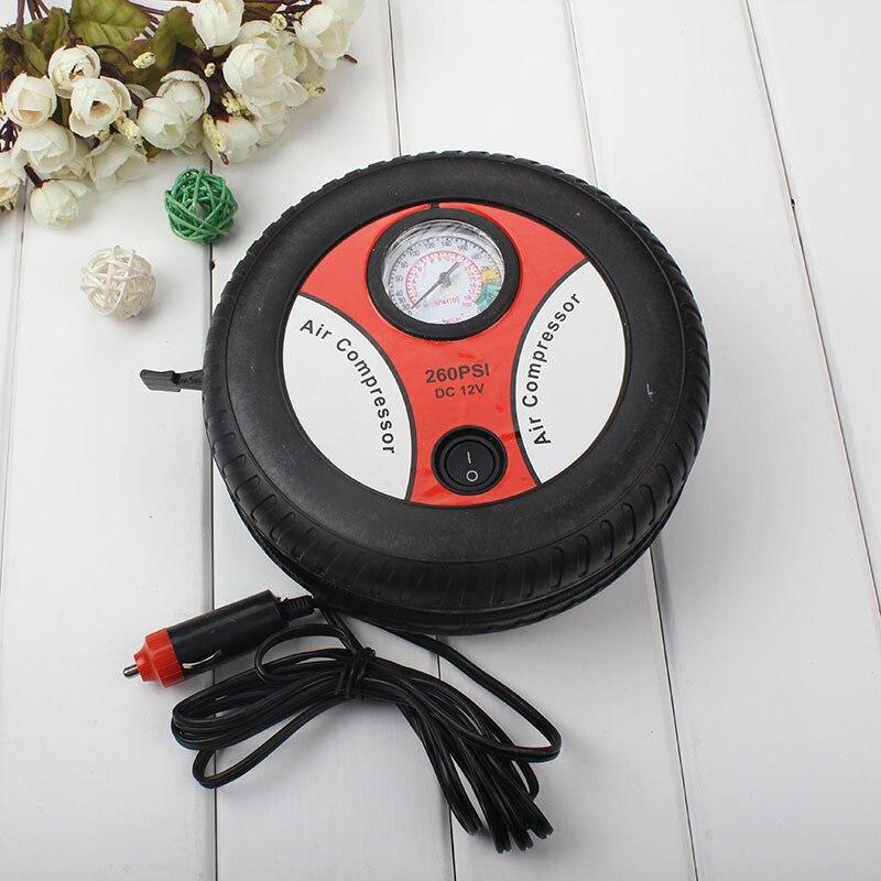 Мини Портативный автомобильный воздушный компрессор 12v Авто Надувные насосы электрический шин Inflaters 380/540 больших моторов 16/19 цилиндры