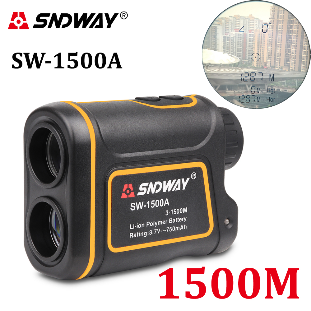 SNDWAY telémetro láser caza telescopio monocular 1500M golf - Instrumentos de medición - foto 1