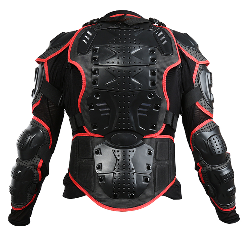 1PCS Motocross Armor Moto Vest Chest Gear Protective Motorcycle Full Body Armor Jacket Motorbike Shoulder Hand Joint Protection