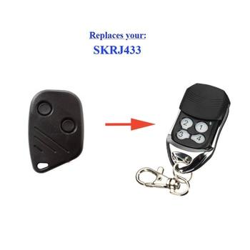 Garage door remote SKRJ433 replacement remote control rolling code 433,92mhz