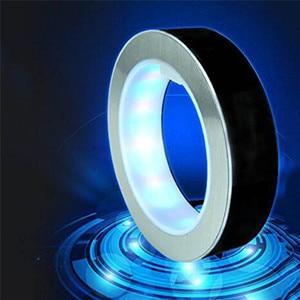 Image 5 - 4 인치 라운드 LED 글로브 자기 부동 글로브 지리 회전 밤 램프 세계지도 학교 사무실 공급 홈 장식