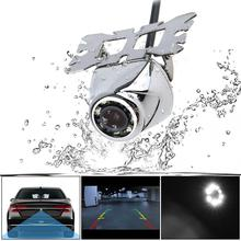 цена на CCD Waterproof Car Rear View Camera 170 Degree Night Vision Parking Reversing Assistance Wide Angle with 8 LED  New