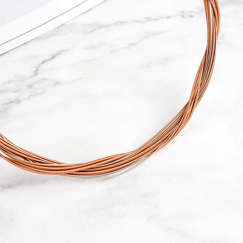 High Quality Guitar Strings 6pcs Classical Guitar String Set Pure Copper Strings E-A for Acoustic Folk Guitar Classic Guitar