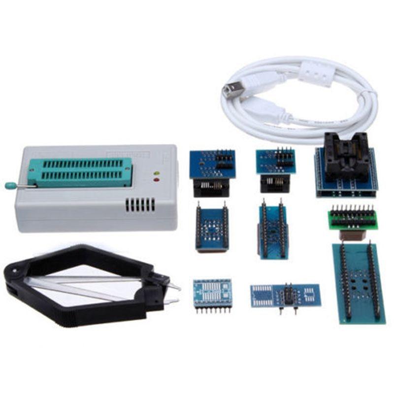 Hho-mini Pro TL866CS USB BIOS Kit de programmeur universel avec adaptateur 9 pièces
