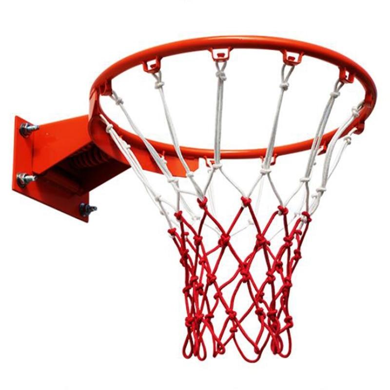 Standard Basketball Net Nylon Hoop Goal Standard Rim For basketball sta IH