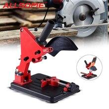 Winkel Grinder Stand Halterung Halter Cutter Unterstützung Metall Schneiden Maschine Power Werkzeuge Zubehör für 100 115 125mm Winkel Grinder