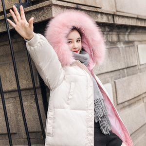 Orwindny Winter Mantel Frauen Große Pelz Kragen Mantel Neue Mode Winter Jacke Frauen Mit Kapuze Jacken Baumwolle Gepolsterte Lange Parkas Schwarz warme Mäntel