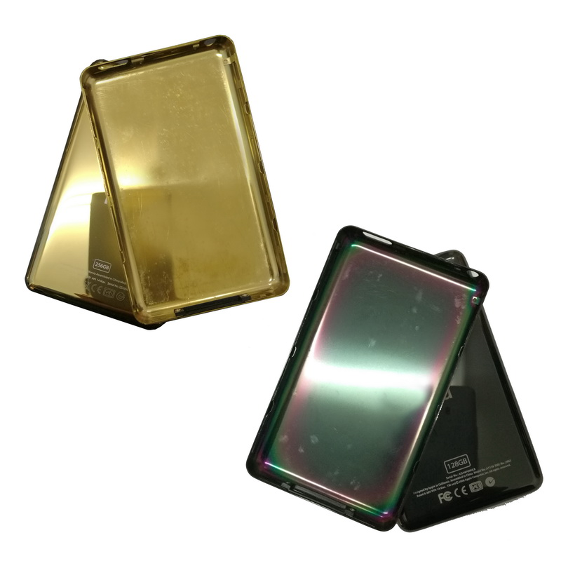 For IPod Classic Black Gold 128GB 256GB Back Cover Case  Slim