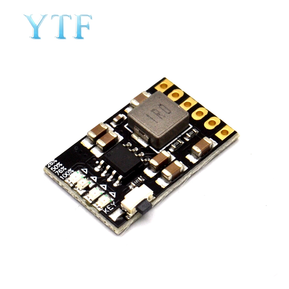 CD42 DC 5V 2.1A Mobile Power Diy Board 4.2V Charge/Discharge(boost)/Battery Protection/Indicator Module 3.7V Lithium 18650