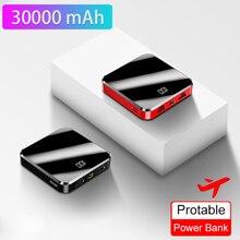 Power Bank 30000mAh Portable Charging Poverbank for Mobile P