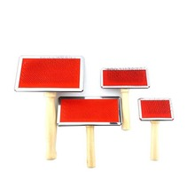 Dog Combs Wooden-Handle Hair-Removal-Brush-Comb Needle Pet-Grooming-Tool Pet-Cat