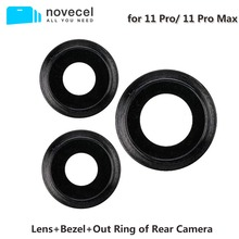 Novecel Lens Bezel Out Ring of Rear Camera for iPhone 11 Pro 11 Pro Max Mobile