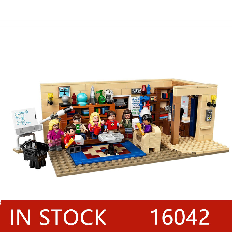 2020 new The Big 16024 Bang Theory and American Drama Friends Central Perk Ideas Model Building Blocks Bricks Toys 21302 21319 image