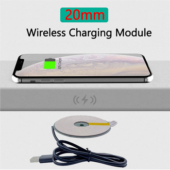 Fast Qi Wireless Charger Module Transmitter PCBA Circuit Board Coil For iPhone 11 Galaxy S20 S9 XIAOMI Mobile Phone DIY Charging