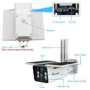 Image 5 - SANAN 1080P Solar Kamera WIFI Wireless überwachungs kamera Outdoor IP67 10400mAh Batterie Powered Sicherheit IP Kameras PIR/Radar Menschlichen erkennung CCTV