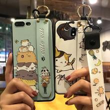 Telefoon Geval Voor Samsung Galaxy J330/J3 2017 Telefoon Houder Lanyard Delicate Shockproof TPU Siliconen Leuke Cartoon Series Cover(China)