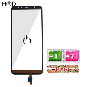 Image 5 - 5.99 mobile mobile tela de toque móvel para leagoo z15 toque digitador da tela do painel de vidro frontal touchscreen ferramentas 3 m cola toalhetes
