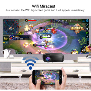 Image 3 - POWERFUL Support 720P Projector X5 Media Player 3D Home Cinema Play Game USB connect Phone Laptop TF card Video Beamer Proyector