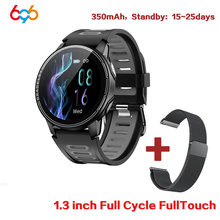 L6 IP68 Waterproof Smartwatch Fitness Tracker Heart Rate Monitor Smart Whatch Men Women Smart Watch For Android IOS Wristband M5(China)