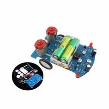 A23-- D2-5 Intelligent Tracking Car Suite DC Motor Electronic Production Assembl